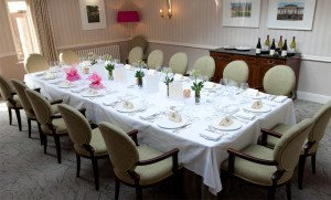 Prvate Dining at Lords of The Manor Hotel
