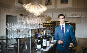 Sommelier at Lords of the Manor